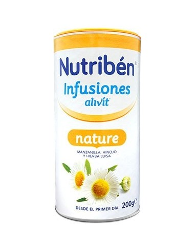 Nutribén Infusion Alivit Nature, 200g