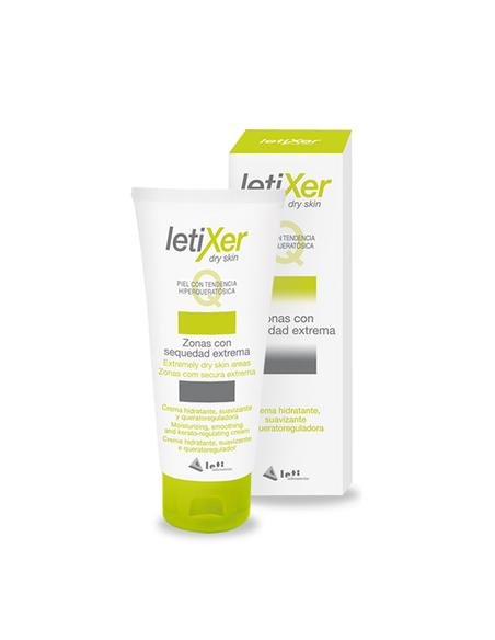 LetiXer Q Crema Hidratante, Zonas Con Sequedad Extrema, 100ml