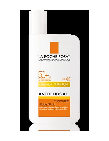 La Roche Posay Anthelios XL Fluido Ultra ligera SPF 50+, 50ml CON PERFUME