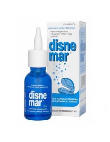 Disnemar Solución Fisiológica Lactantes y Ninos, 25ml