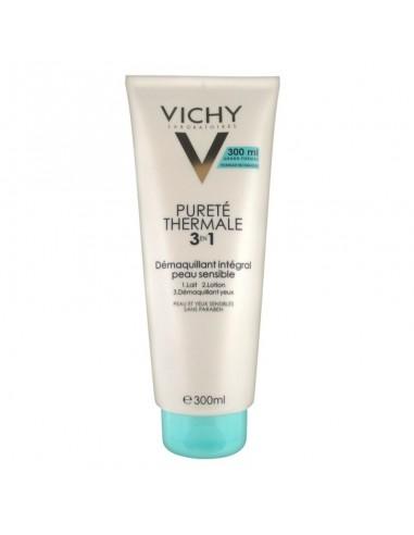 Vichy Desmaquillante integral 3 en 1 Purete Thermale, 300ml