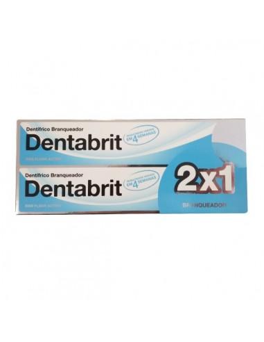 Dentabrit DUPLO Pasta Dentífrica Blanquedora, 2x 125ml