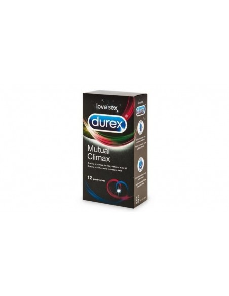 Durex Preservativos Mutual Climax, 12 Ud