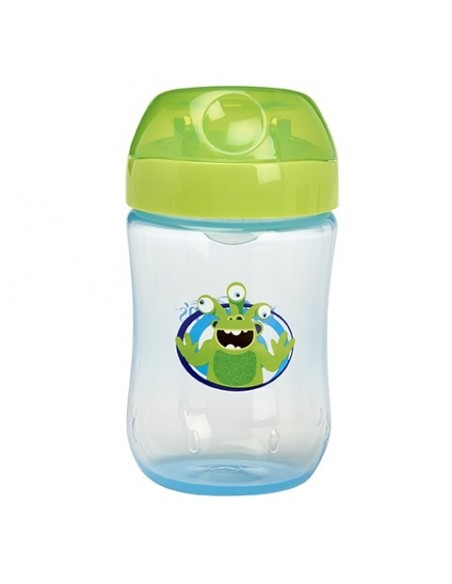Dr Brown´s Taza Educativa +9 meses Antigoteo Boquilla Dura, 270ml