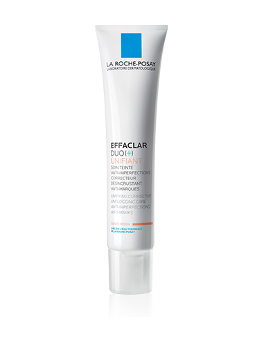 La Roche Posay Effaclar Duo Unifiant Tratamiento corrector Color claro, 40ml