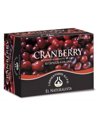El Naturalista Cranberry  60 Cápsulas