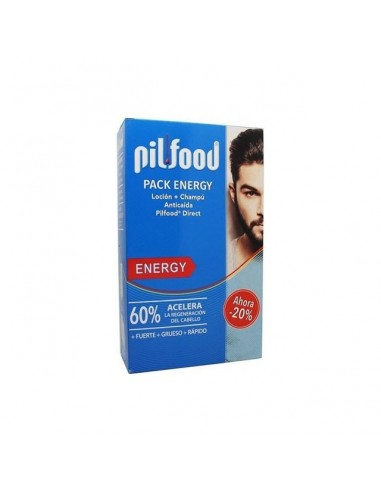 Pack Pilfood Energy Champu 200ml + Locíon 125ml