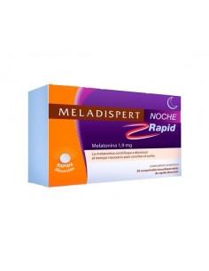 Meladispert Noche Rapid Melatonina 1.9mg, 20 comprimidos bucodispersables