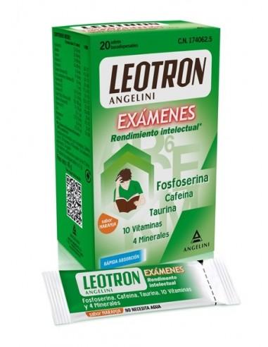 Leotron Rendimiento Intelectual, 20 sobres bucodispersables