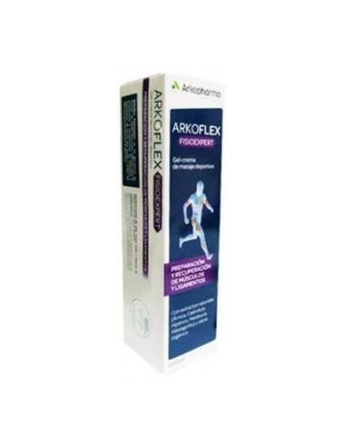 Arkoflex FisioExpert Gel- Crema de Masaje Deportivo, 200 ml