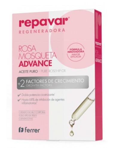 Repavar Regeneradora Aceite Puro Rosa Mosqueta 15ml
