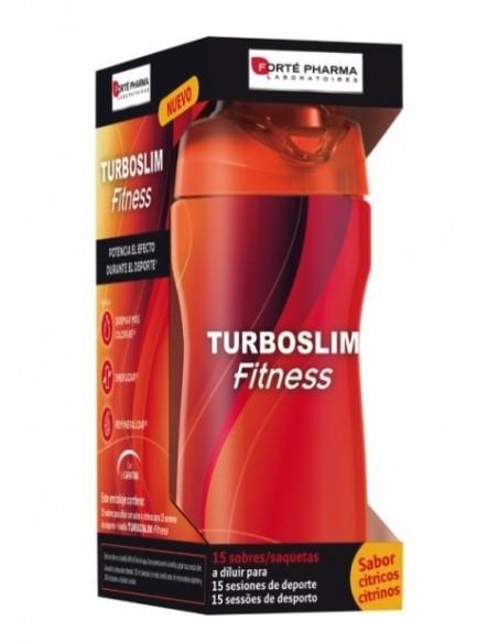 Forté Pharma Turboslim Fitness 15 sobres + REGALO Botella Fitness