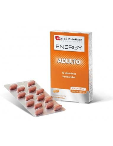 Forte Pharma Energy Multivitaminas Adulto, 28 Comprimidos