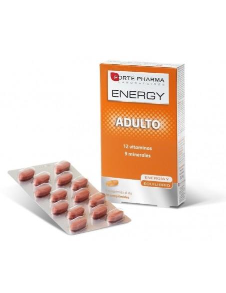 Forte Pharma Energy Multivitaminas Adulto, 28 Comprimidos