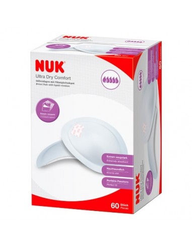Nuk Discos Protectores Ultra Dry, 60Ud