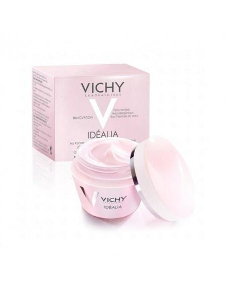Vichy Idéalia Crema Iluminadora Alisadora Pieles Secas, 50ml