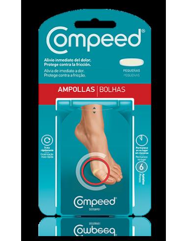 Compeed Ampollas Pequenas Protector Adhesivo, 6Ud