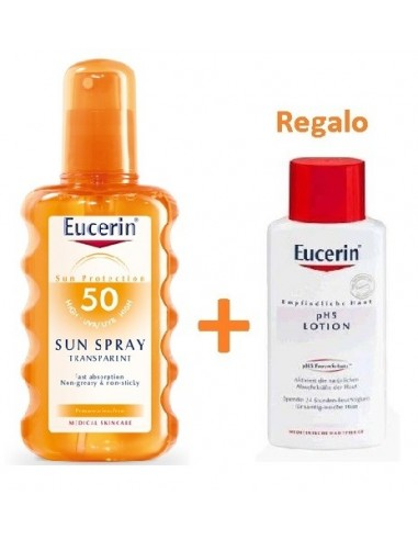 Eucerin Sun Protection Spray Solar Transparente SPF50, 200ml