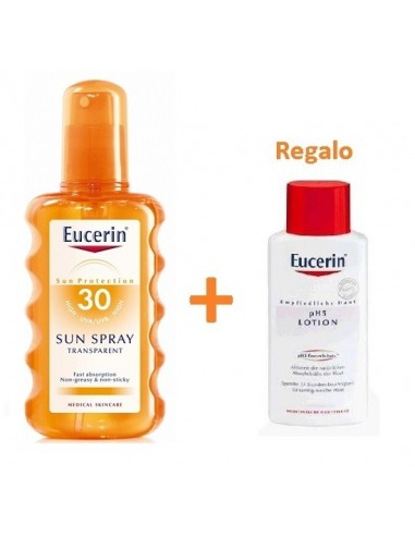 Eucerin Sun Protection Spray Solar Transparente SPF30, 200ml