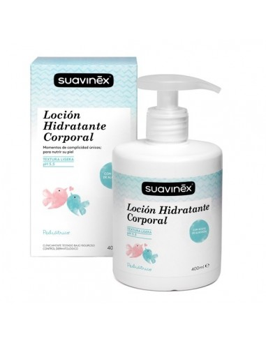 Suavinex Body Luxuries Loción Hidratante Masaje, 400ml