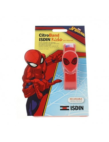Isdin CitroBand + UV Tester Kids, Spider-Man + 2 Pastillas
