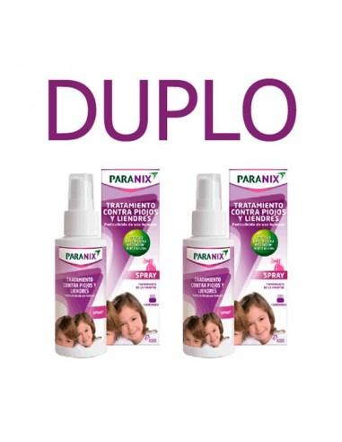 Paranix Spray Tratamiento Pediculicida, 2x100ml