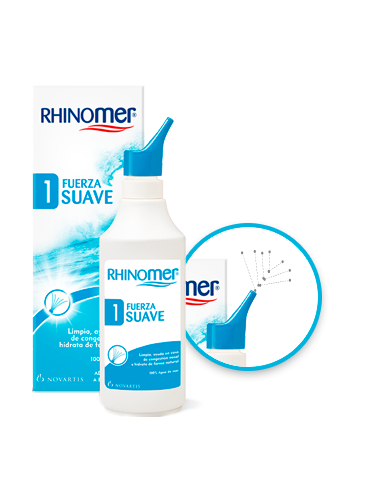 Rhinomer Fuerza 1 Suave, 115 ml