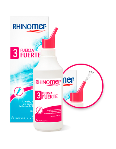 Rhinomer Fuerza 3 Fuerte, 135ml