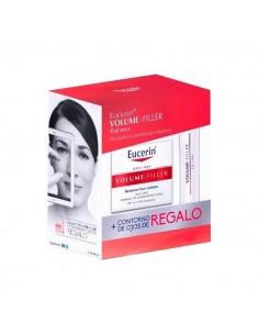 Eucerin Volume-Filler Crema de dia, 50ml + Contorno de ojos, 15ml