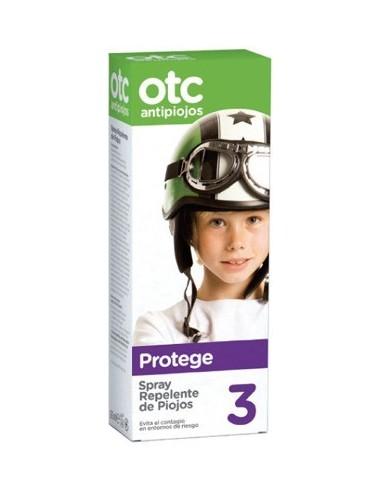 OTC Antipiojos Spray Repelente de Piojos, 125ml