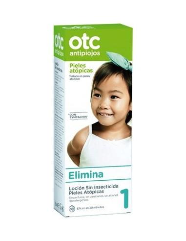 OTC Antipiojos Loción Sin Insecticida Pieles Atópicas, 125ml