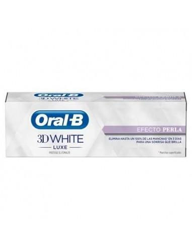 Oral B 3D White luxe efecto perla, 75 ml