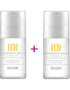 Babe Duplo Desodorante Roll on, 2x50 ml