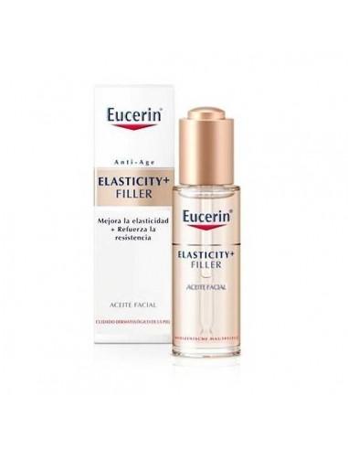 Eucerin Elasticity + Filler Aceite Facial, 30ml