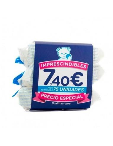 Mustela Triplo toallitas faciales 75uds