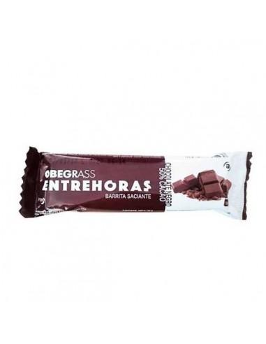 Obegrass Entrehoras Chocolate Negro 50% Cacao, 1 barrita