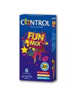 Control Preservativos Fun Mix, 6Ud