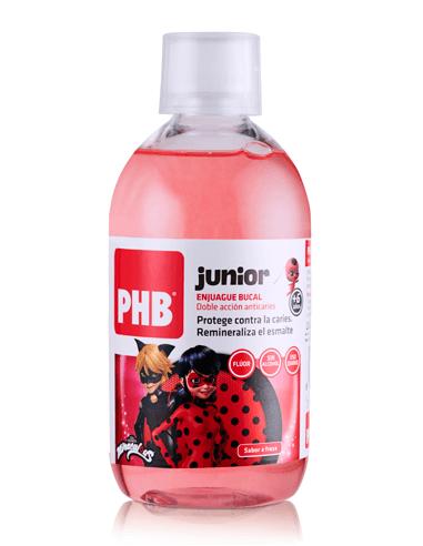 PHB Junior Enjuague bucal miraculous, 500ml
