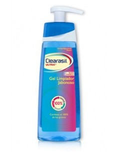Clearasil Ultra Gel Limpiador Jabonoso, 200ml
