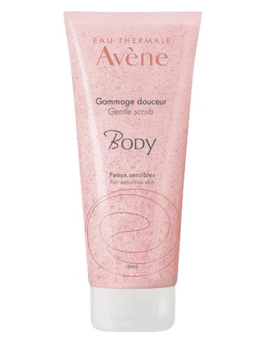 Avene Body exfoliante piel sensible, 200ml