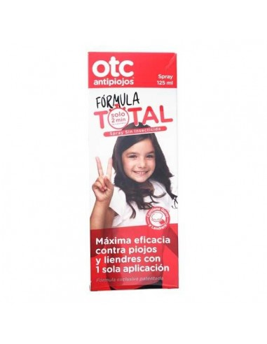 OTC Antipiojos Spray Formula total, 125ml
