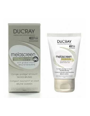 Ducray Melascreen Cuidado Antimanchas crema de manos, 50ml