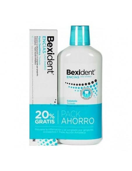Bexident Pack Encias Colutorio Tratamiento 500ml + Pasta 125ml