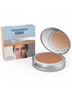 Isdin Fotoprotector SPF50+ Compacto Oil Free Bronce, 10g