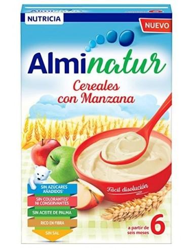 Alminatur cereales con manzana, 250g