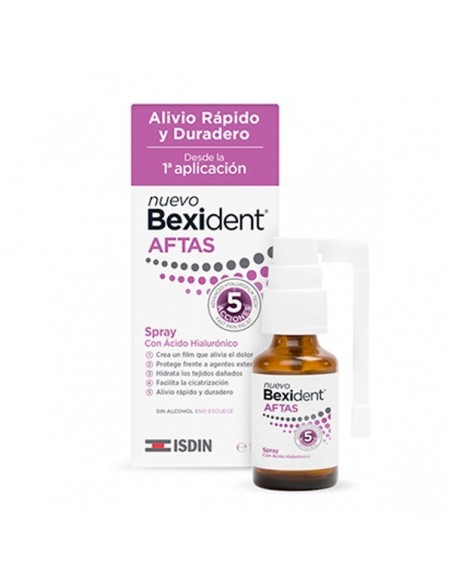 Bexident Spray Protector Aftas Bucales, 15ml