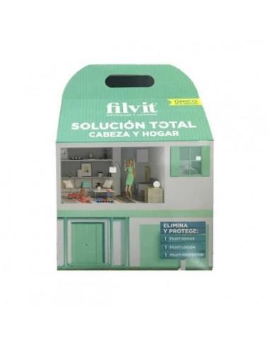Filvit Solución total cabeza y hogar Pack 3 productos