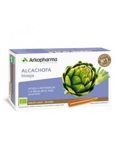 Arkofluido Alcachofa Hinojo Bio, 20 ampollas