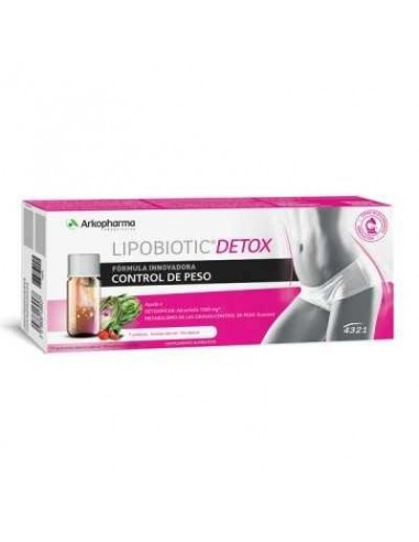 Arkopharma 4321 Lipobiotic Detox 7 Unidosis