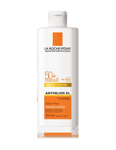 La Roche Posay Anthelios XL Fluido Extremo Corporal Sin Perfume SPF50, 125 ml